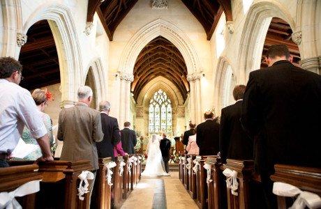 Piano at Church Wedding